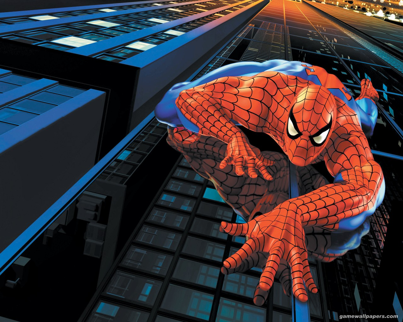 Spiderman 3d wallpaper large